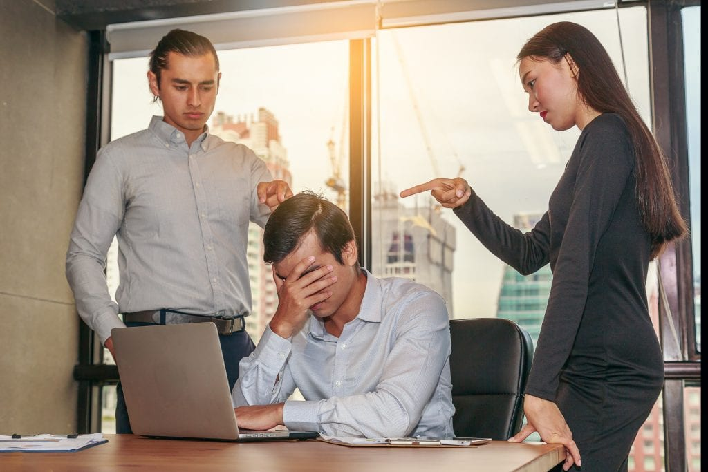 toxic workplace policies frustrated employees