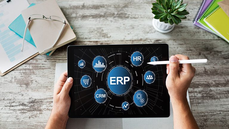 what is the difference between erp and crm software